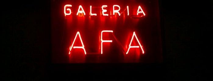 Galeria AFA is one of Santiago.