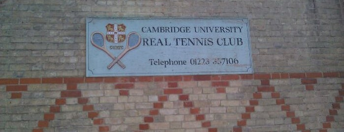 Cambridge University Real Tennis Club is one of 111 Cambridge places.