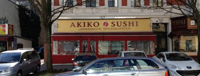 Akiko Sushi is one of Asian Food.