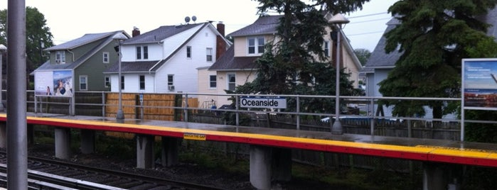 LIRR - Oceanside Station is one of IN TOWN.
