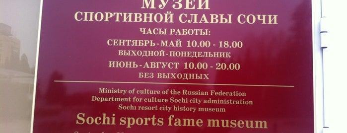 Музей Спортивной Славы Сочи is one of Sochi 2014.
