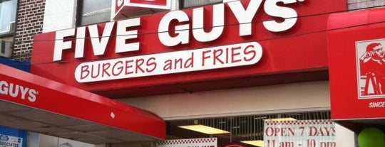 Five Guys is one of Lugares guardados de N..