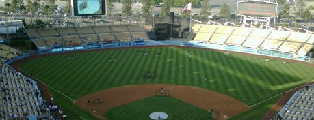 Dodger Stadium is one of Great Sport Locations Across United States.
