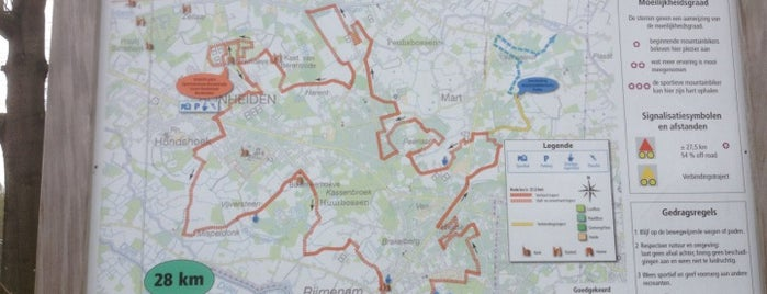 Bloso MTB Routes is one of Vrije tijd.