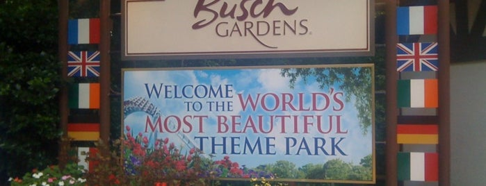 Busch Gardens Williamsburg is one of Theme Parks I've Visited.