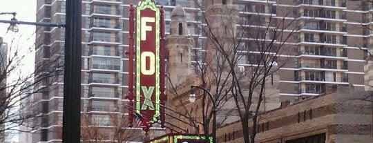 The Fox Theatre is one of Atlanta History.