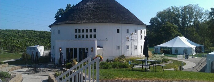 Round Barn Winery, Distillery & Brewery Estate is one of Michigan Breweries.