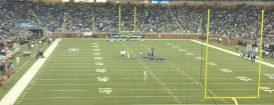 Ford Field is one of MAXimum Football.
