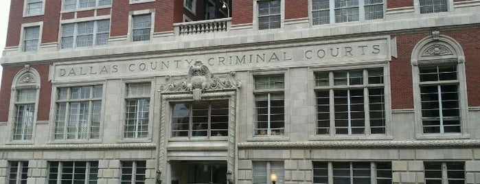 Dallas County Courts is one of Historical Markers.