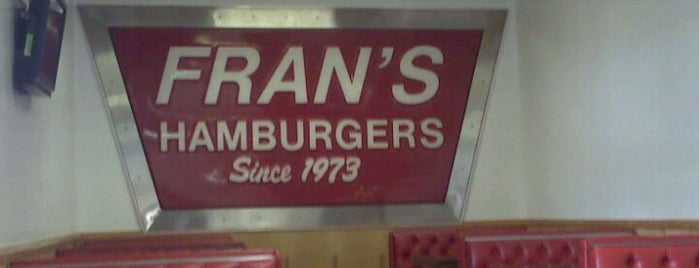 Fran's Hamburgers is one of TV Food Spots: Austin Metro Area.