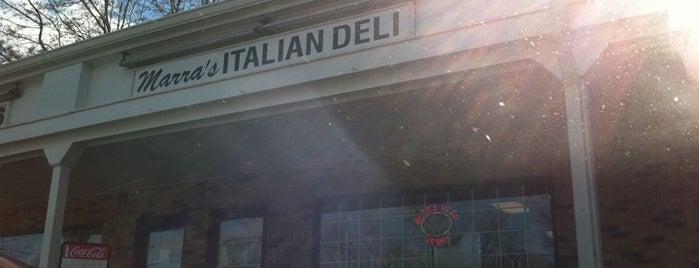 Marra's Italian Deli is one of Orte, die Gabriella gefallen.