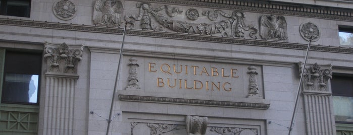 Equitable Building is one of IWalked NYC's Lower Manhattan (Self-guided Tour).