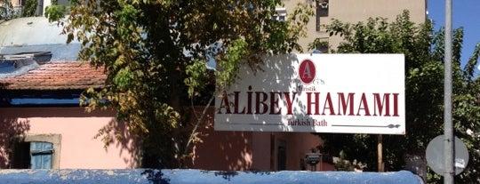 Tarihi Alibey Hamamı is one of Lieux qui ont plu à Kemal.