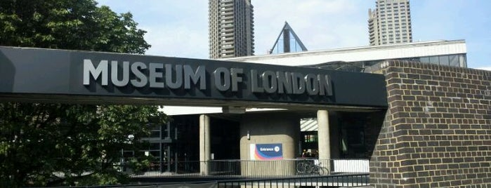 Museum of London is one of Lieux sauvegardés par Kevin.