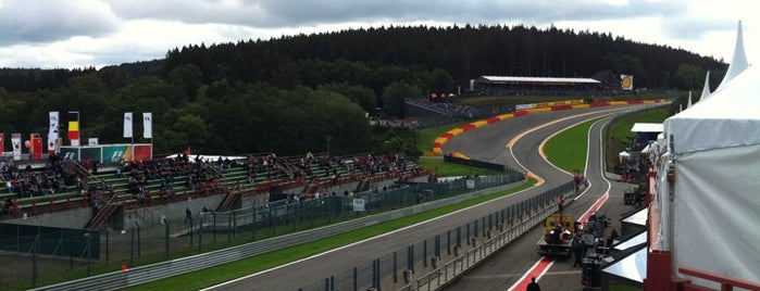 Circuit de Spa-Francorchamps is one of Formula One Track 2014.
