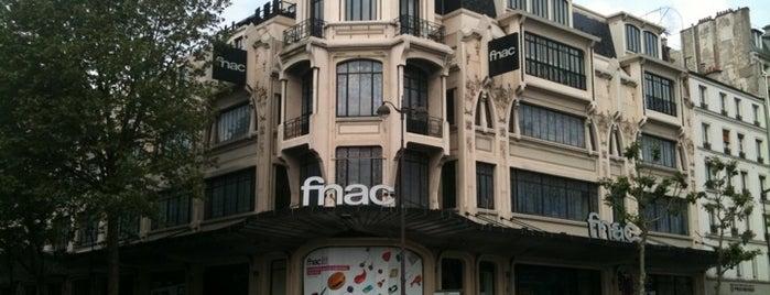 Fnac is one of Marc-Edouard'ın Beğendiği Mekanlar.