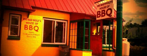 Big Bad Wolf's House Of Barbeque is one of BAWLMOR.