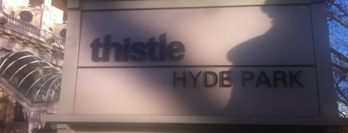 Thistle Hyde Park is one of Times Eat Out Card Participants.