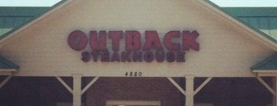 Outback Steakhouse is one of Gespeicherte Orte von Sean.