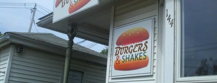 Armonk Burgers & Shakes is one of Bow to the Burger.