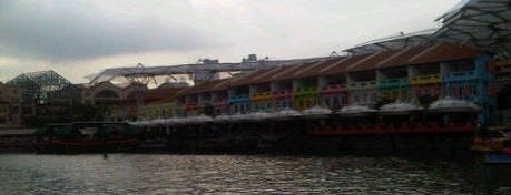Clarke Quay is one of Visit Singapore: FindYourWayInSG.