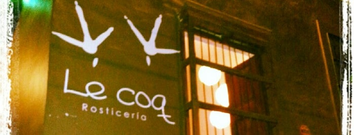 Le Coq is one of Muy recomendados.