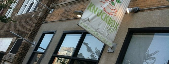 Knockbox Cafe is one of Chicago.