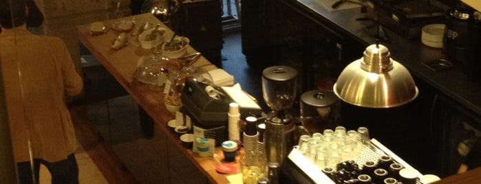 Nude Espresso is one of An Aussie's fav spots in London.