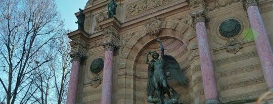 Place Saint-Michel is one of Paris.