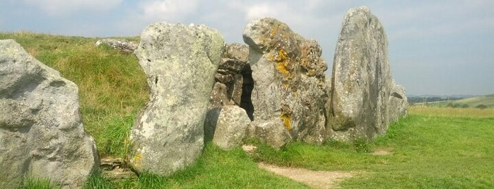West Kennet Long Barrow is one of England 1991.