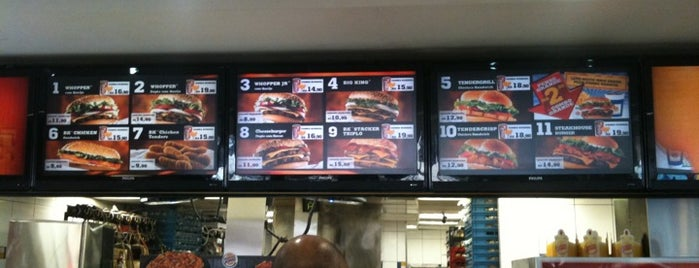 Burger King is one of SP Burguers.