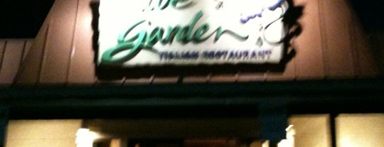 Olive Garden is one of Jackie 님이 좋아한 장소.