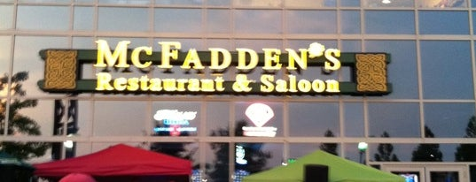 McFadden's is one of Philadelphia's Best Sports Bars - 2012.