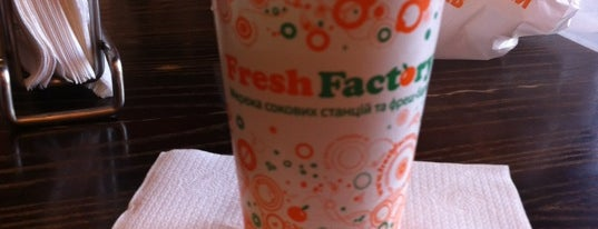 Fresh Factory is one of Vegetarian and vegan places.