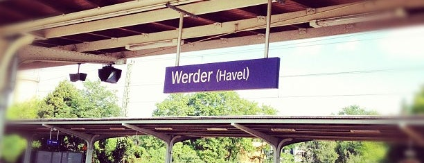 Bahnhof Werder (Havel) is one of Bahnhöfe besucht !.