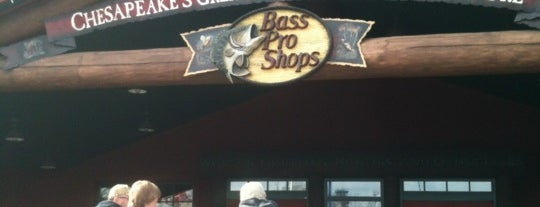 Bass Pro Shops is one of Get me outdoors!.