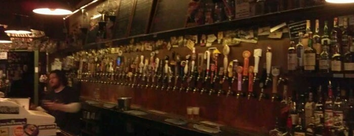 Falling Rock Tap House is one of Draft Magazine Best Beer Bars.
