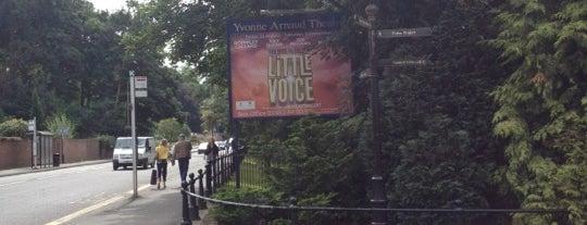 Yvonne Arnaud Theatre is one of Anthony'un Kaydettiği Mekanlar.