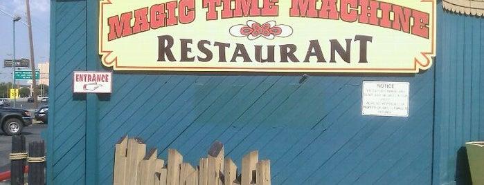 The Magic Time Machine is one of San Antonio.