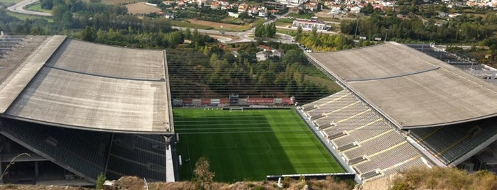 Estádio Municipal de Braga is one of Rui 님이 좋아한 장소.