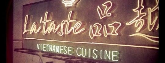 La'taste is one of Lugares favoritos de Pritya.