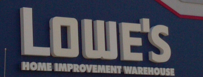 Lowe's is one of Lieux qui ont plu à Wade.
