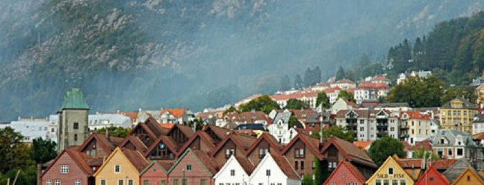 Bergen is one of The Bucket List.