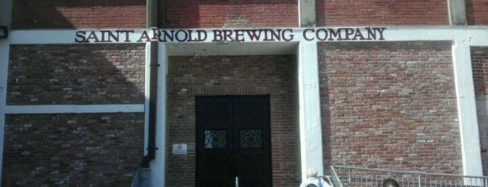 Saint Arnold Brewing Company is one of artCrawlHouston.