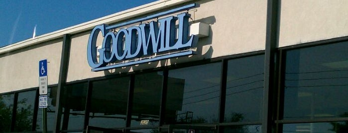 Goodwill is one of Shopping.