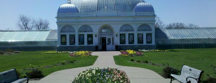 Buffalo & Erie County Botanical Gardens is one of Must see places in Buffalo for tourists #visitUS.