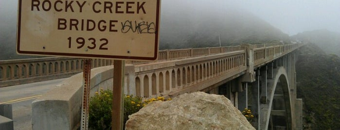 Rocky Creek Bridge is one of Califórnia.