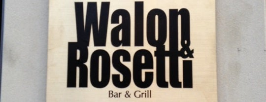Walon & Rosetti is one of Frankfurt Restaurant.