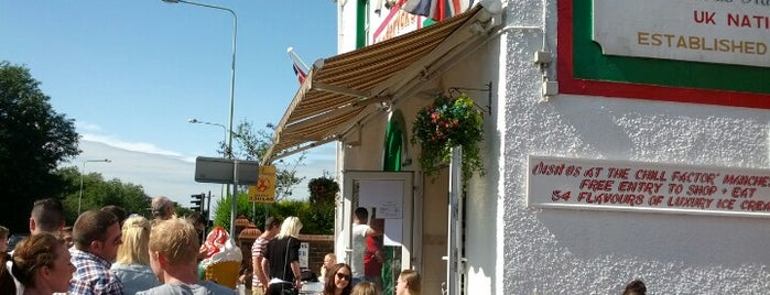 Frederick's Ice Cream Parlour is one of Orte, die Louise gefallen.
