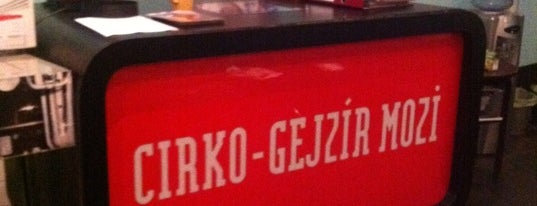 Cirko-Gejzír Filmszínház is one of Posti salvati di Krstan.